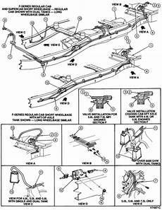 1996 ford f150 fuel system diagram 1996 f150 6 cyl gas leak ford truck enthusiasts forums