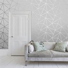 Zara Shimmer Metallic Wallpaper Soft Grey Silver Grey