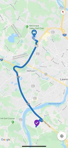 drawing route lines on maps between two locations