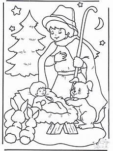 malvorlagen weihnachten krippe zeichnen und f 228 rben