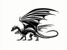 Drachen Schwarz Weiß - quot drache fliegender drache schwarz auf wei 223 quot kunstdrucke