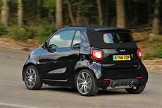 2016 smart fortwo brabus xclusive cabrio review autocar