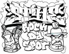 graffiti coloring pages at getcolorings free