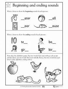 1st grade kindergarten reading worksheets beginning and