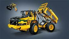 lego technic rc volvo l350 front loader 42030 new
