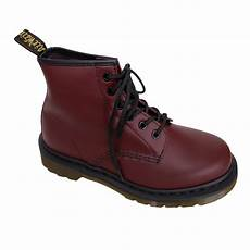 dr martens quot 101 smooth quot boot 6 loch cherry