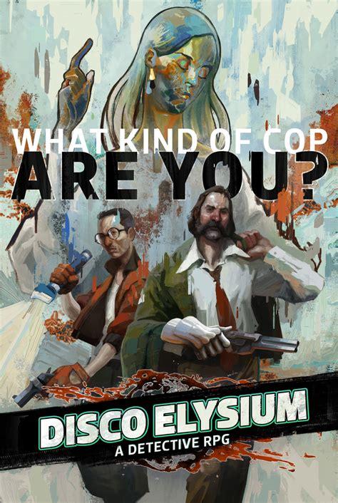 Disco Elysium Cover Art