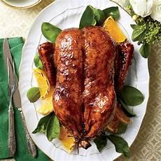 Knusprige Ente Rezept - classic roasted duck orange bourbon molasses glaze