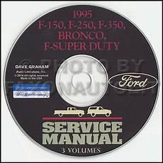 old car repair manuals 1995 ford f350 auto manual 1995 ford truck shop manual cd f150 f250 f350 pickup super duty bronco service ebay
