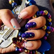 mardi gras nails mardi gras nails nails my nails
