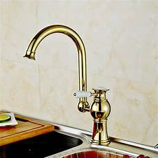 kitchen faucets for sale antique polished brass radian handle kitchen faucet on sale