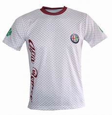 alfa romeo t shirt alfa romeo t shirt with logo and all printed picture