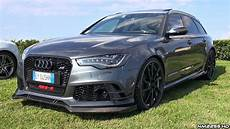 audi rs6r abt 730hp audi rs6 r abt exhaust sound start up revs overview