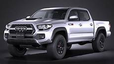 toyota tacoma trd pro 2017 3d modell turbosquid 1031407