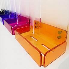 mensole per doccia mensola singola per doccia in plexiglass colorato