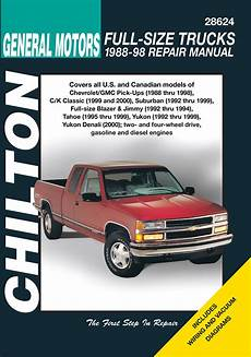 old car owners manuals 1999 chevrolet suburban 2500 electronic valve timing gmc c k 2500 suburban 1992 1999 chilton haynes manuals