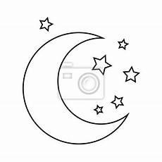Malvorlagen Mond Und Sterne Mond Und Sterne Zeichnen Malvorlagen F 252 R Kinder