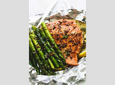 easy salmon foil packets