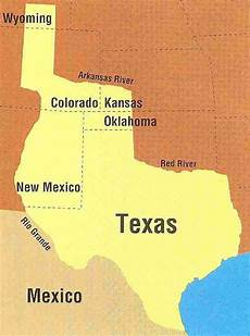 boundaries of the republic of texas