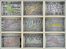 Namen Mit I - namensgraffitis kunst grundschule kunstunterricht und