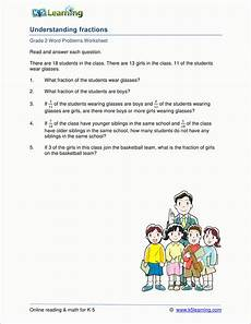 grade 2 fraction word problem worksheets k5 learning