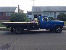 Buy Used 1987 Ford F350 Flatbed Pick Up Diesel Dually In