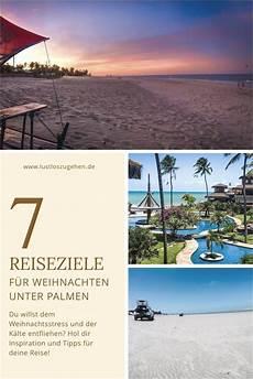 weihnachten unter palmen 7 reiseziele reisen
