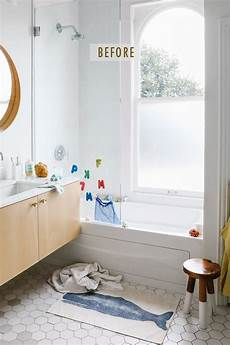makeover kids bath to guest spa apartment34
