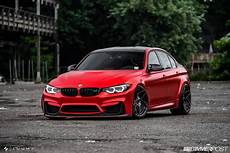what do you say about this satin red bmw m3 tune carscoops