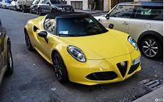 Alfa Romeo 4c Spider 17 October 2017 Autogespot