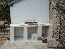 Construction D Un Barbecue Sur Mesure Cuisine Exterieur