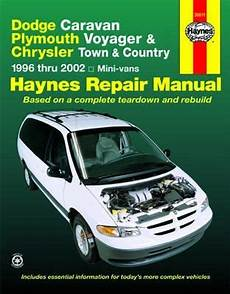free online auto service manuals 1996 plymouth grand voyager electronic valve timing dodge caravan plymouth voyager chrysler town and country haynes repair manual 1996 2002
