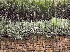 Steinmauer Bedruckter Zaun Sichtschutz Streifen Ebay
