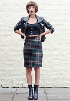 1980s skirts and hairstyles vintage 1980 s tartan pencil skirt 163 22 00 fashion 1980s fashion 1980s fashion trends