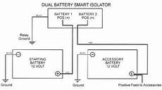 Wiring Diagramme For Smart Dual Battery 140a Isolator