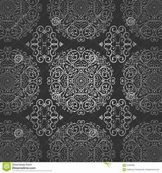 Arabische Muster Malvorlagen Xing Tapeten Arabischer Batik Kreis Dunkle Silberne Muster Mit