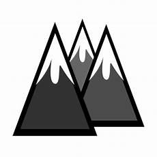 Mountain Clipart onlinelabels clip snowcapped mountains