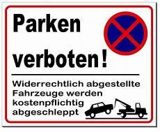 Parken Verboten Parkverbot Aluminium Schild 4 Gr 246 223 En