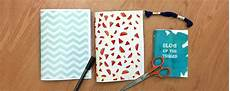 notizbuch selber basteln diy tutorial handmade notebooks of the things