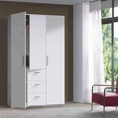 armadio a 3 ante armadio moderno bianco lucido 3 ante battenti e 3 cassetti