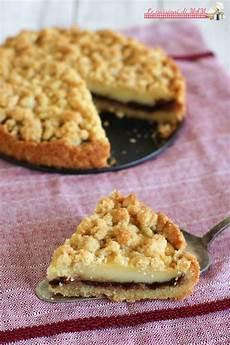 dolci con crema pasticcera e nutella sbriciolata con crema e nutella ricette dolci idee alimentari ricette