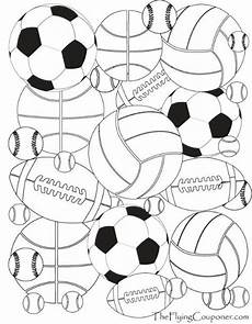 printable coloring pages sports balls 17740 colouring pages for adults and sports sports coloring pages football coloring pages