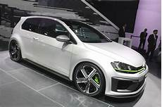 volkswagen shows its golf r 400 concept at the auto show