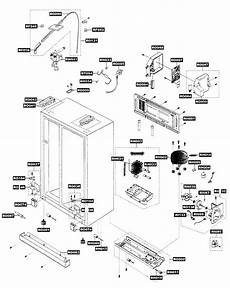compressor assy diagram parts list for rs269larsxaa samsung parts refrigerator parts