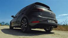 golf r akrapovic 2018 vw golf r with akrapovic stock exhaust startup sound and accelerations