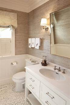 Bathroom Wall Covering Ideas 30 Ideas For Using Wainscoting Subway Tile In A Bathroom