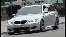 Onboard Bmw M5 E61 Loud Exhaust Sounds