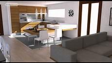 arredo bilocale progettazione di interni 3d bilocale moderno