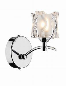 jacob 1 light polished chrome wall light 024112 class 2