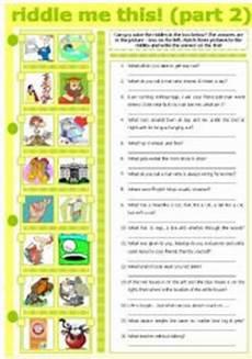 riddles worksheets 10891 exercises riddle me